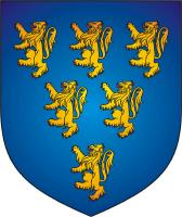 William Longespee - Earl of Salisbury - Coat of Arms - Medieval England - Nobility