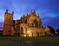 Exeter Cathedral - England