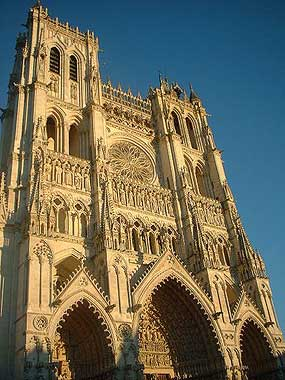 Amiens Cathedral - France - Gothic Architecture - Medieval History - Middle Ages History - Medieval France - Medieval Europe - Church
