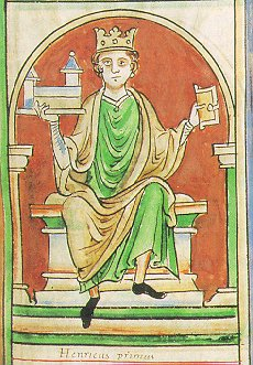 Henry I - King of England - Son of William the Conqueror - Medieval History - Medieval England - Middle Ages History