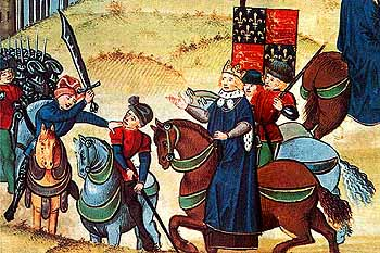 Wat Tyler - William Walworth - King Richard II - English Peasants Revolt - Medieval England - Medieval History - Middle Ages History