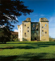 Old Wardour Castle - English Heritage - Medieval Castles - Middle Ages History - Medieval History - Medieval England
