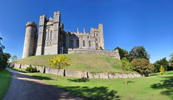 Arundel Castle - Medieval History - Medieval Castles - Middle Ages History - William the Conqueror - Roger de Montgomery - Medieval England - Normans