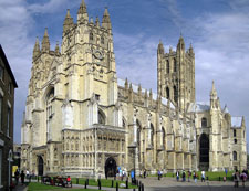 Canterbury Cathedral - Medieval England - Gothic Architecture - Medieval History - Middle Ages History