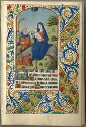 Book of Hours - Medieval Manuscript
