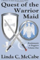 Quest of the Warrior Maid: Bradamante & Ruggiero by Linda McCabe - Medieval Epic Poem - Charlemagne
