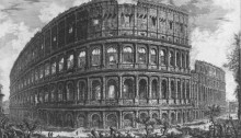 Rome Colosseum in medieval times