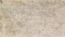 Rare copy of Magna Carta discovered